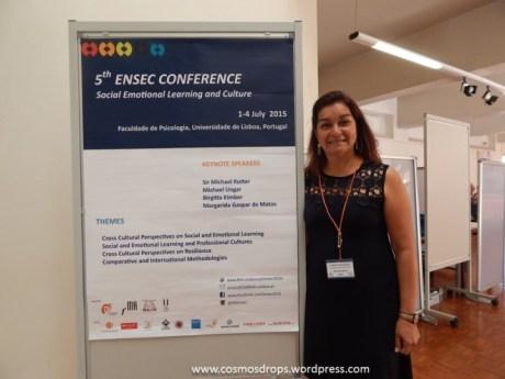 Rosana Souto na V Conferência da ENSEC